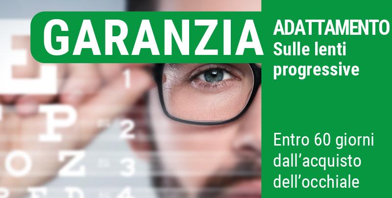 Garanzia adattamento sulle lenti progressive, Centri Ottici Associati, Centro Ottico Nonantola, Modena