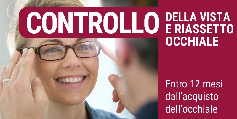Controllo della vista e riassetto occhiale, Centri Ottici Associati, Centro Ottico Nonantola, Modena