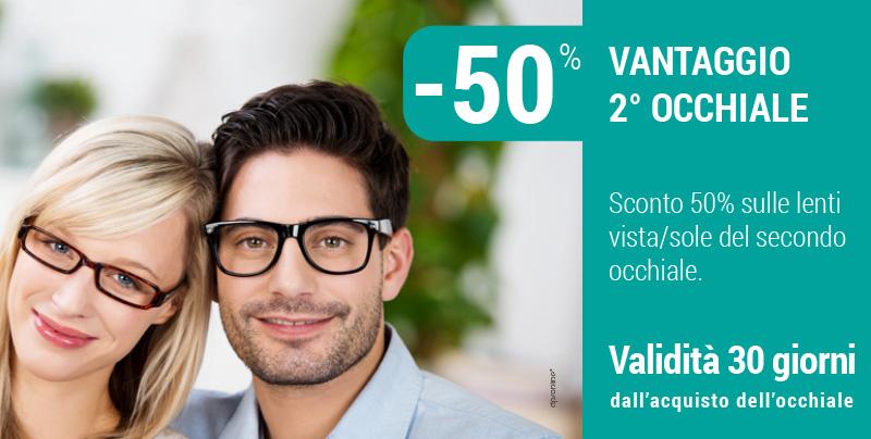 Vantaggio sul secondo occhiale, Centri Ottici Associati, Centro Ottico Nonantola, Modena