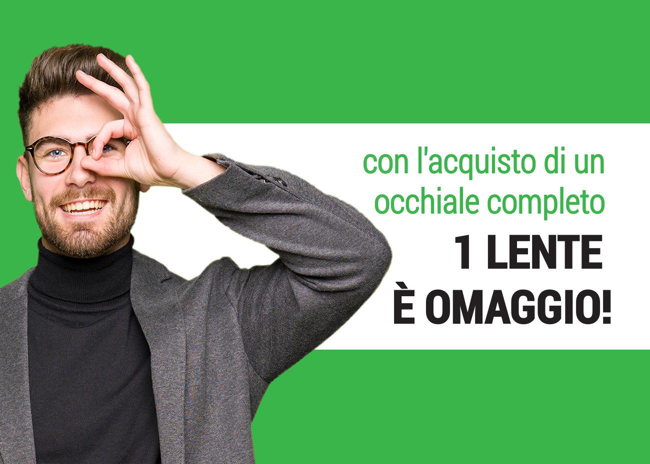 1 lente omaggio, Campagna dei Centri Ottici Associati, Centro Ottico Nonantola